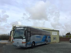 Volvo Vanhool 49 seater